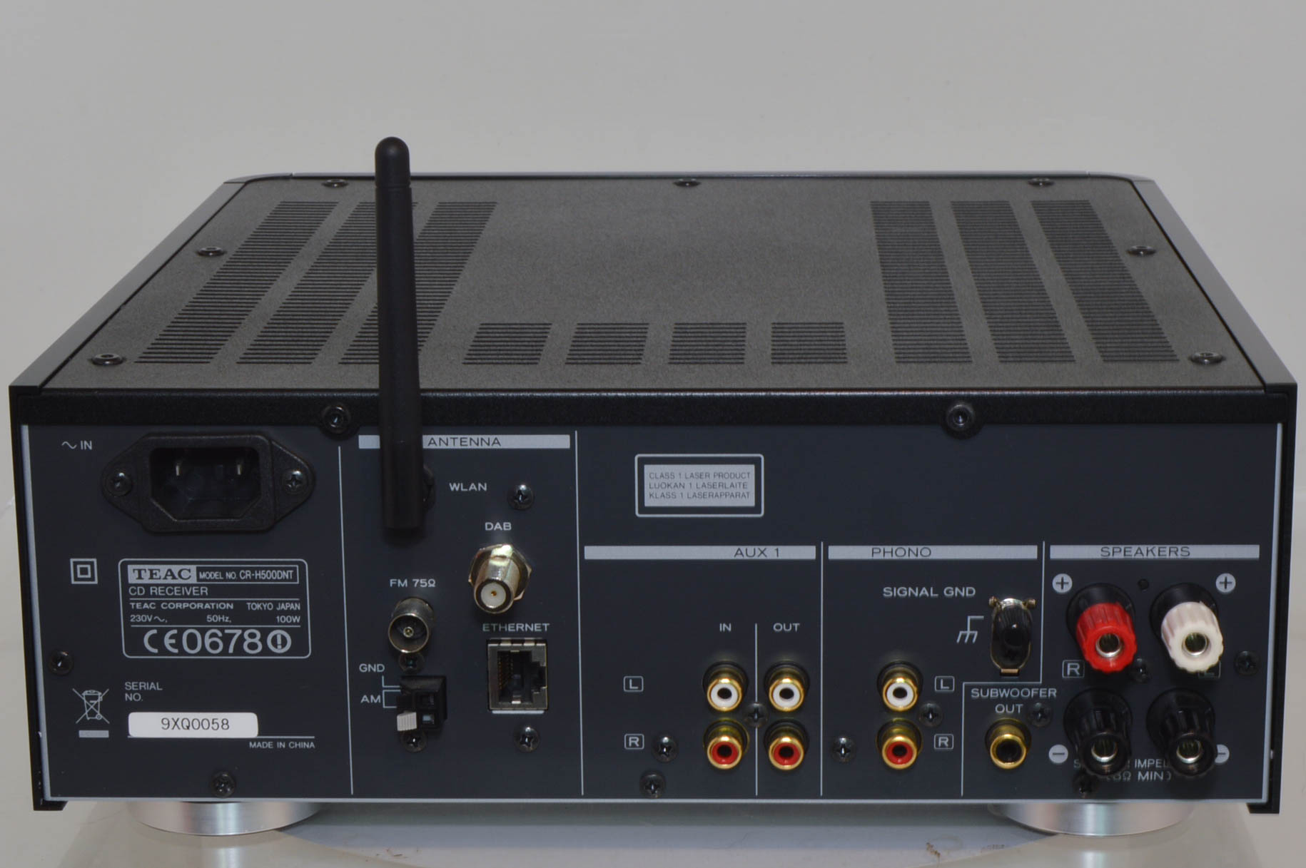 Teac CR-H500DNT-B Network CD Receiver System | 2ndhandhifi ...
