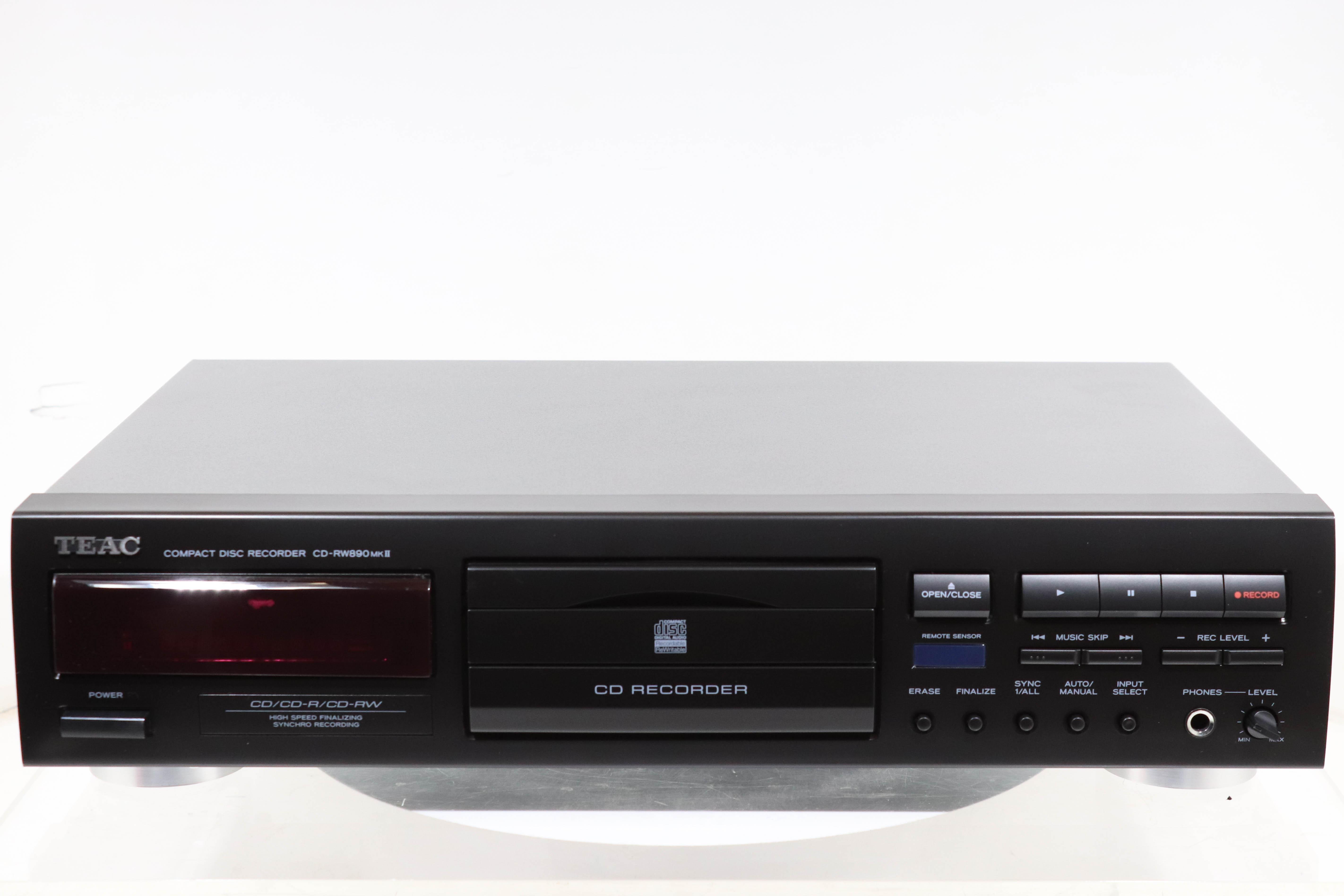 teac cd rw890 mkii cd recorder 2ndhandhifi used hifi rh 2ndhandhifi co uk CD Recorders Walmart TEAC CD Recorder Manual