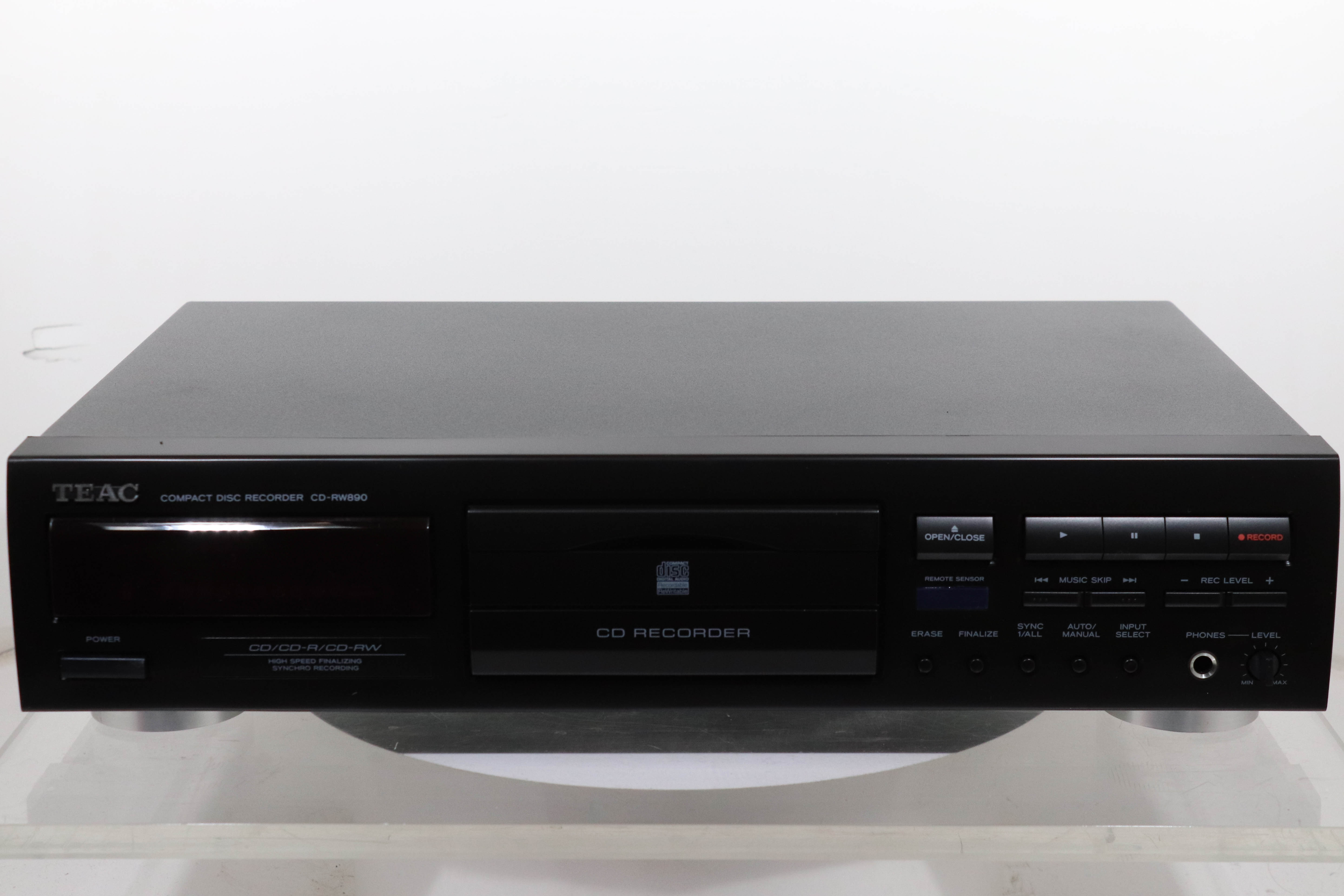 teac cd rw890 cd recorder 2ndhandhifi used hifi rh 2ndhandhifi co uk Audio CD Recorders Sale CD Recorders Walmart