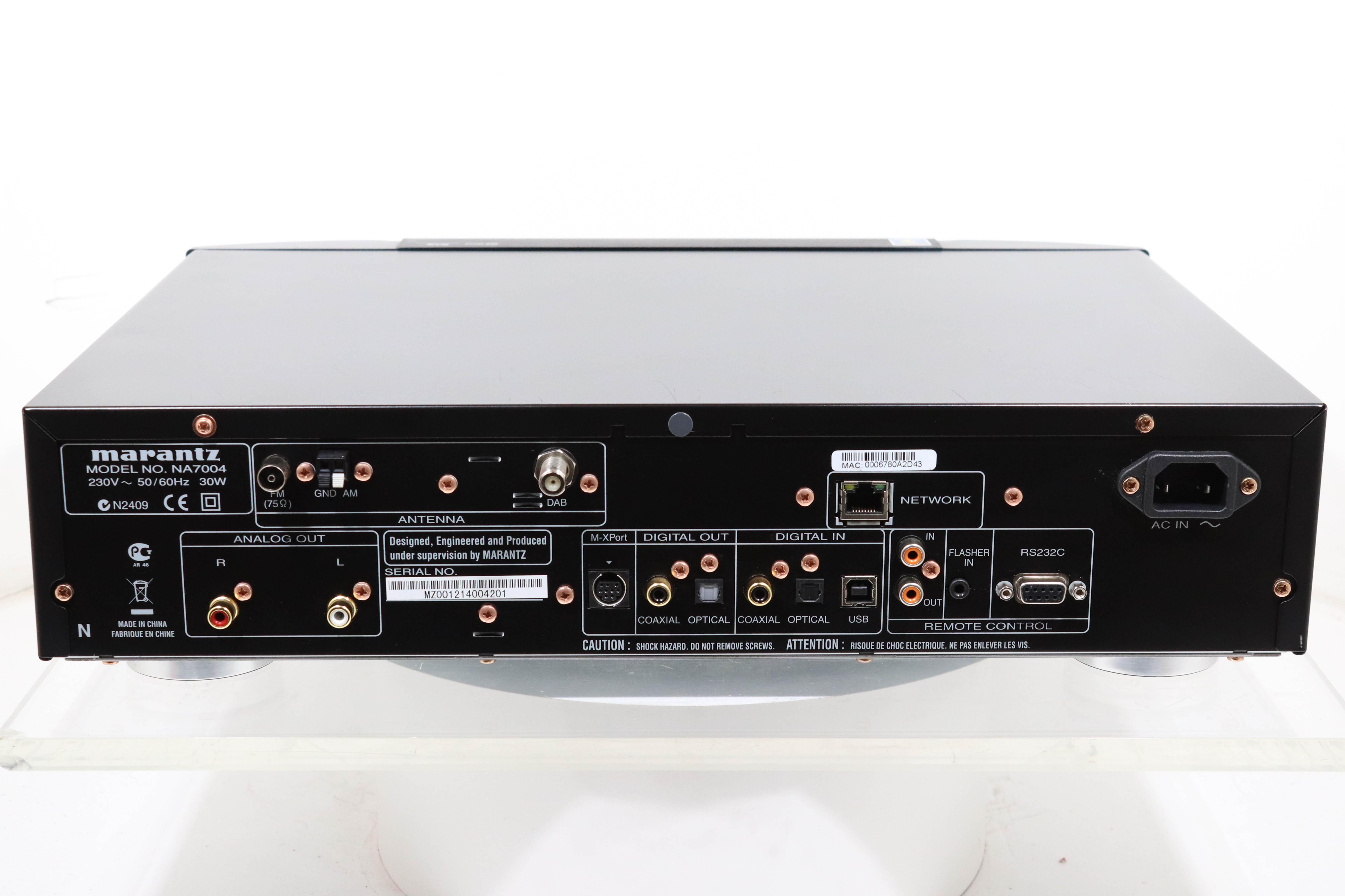 marantz na7004 network streamer 2ndhandhifi used hifi rh 2ndhandhifi co uk Stereo Receivers Cambridge Audio NP30